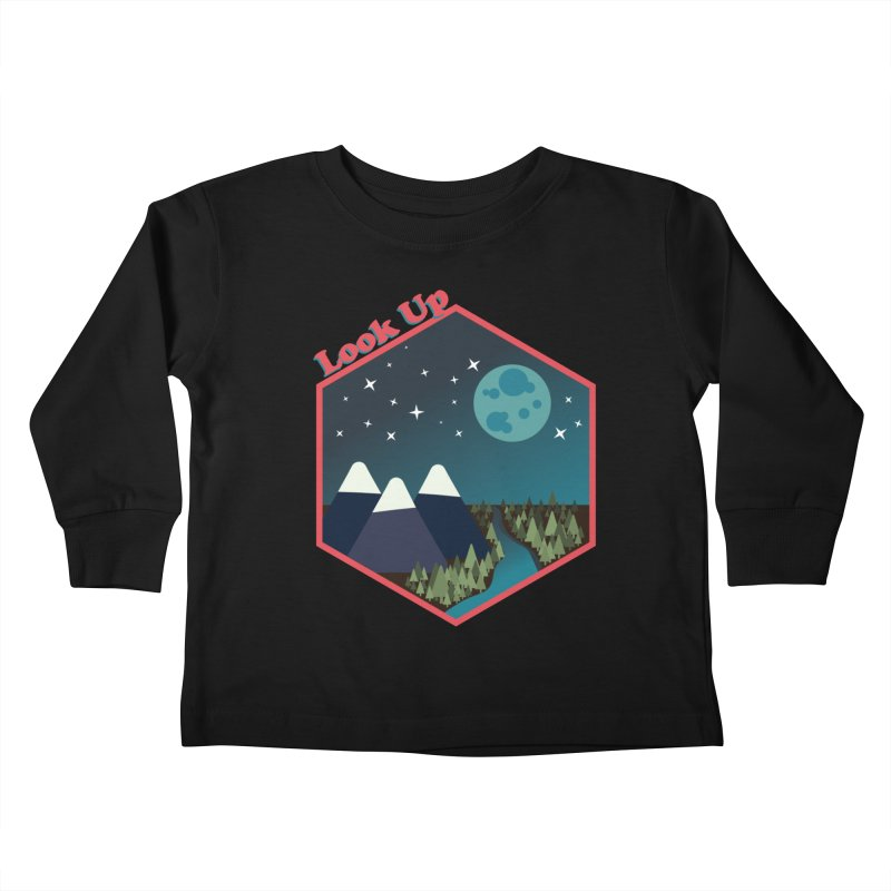 Look Up! Kids Toddler Longsleeve T-Shirt by Environmental Arts Alliance Shop