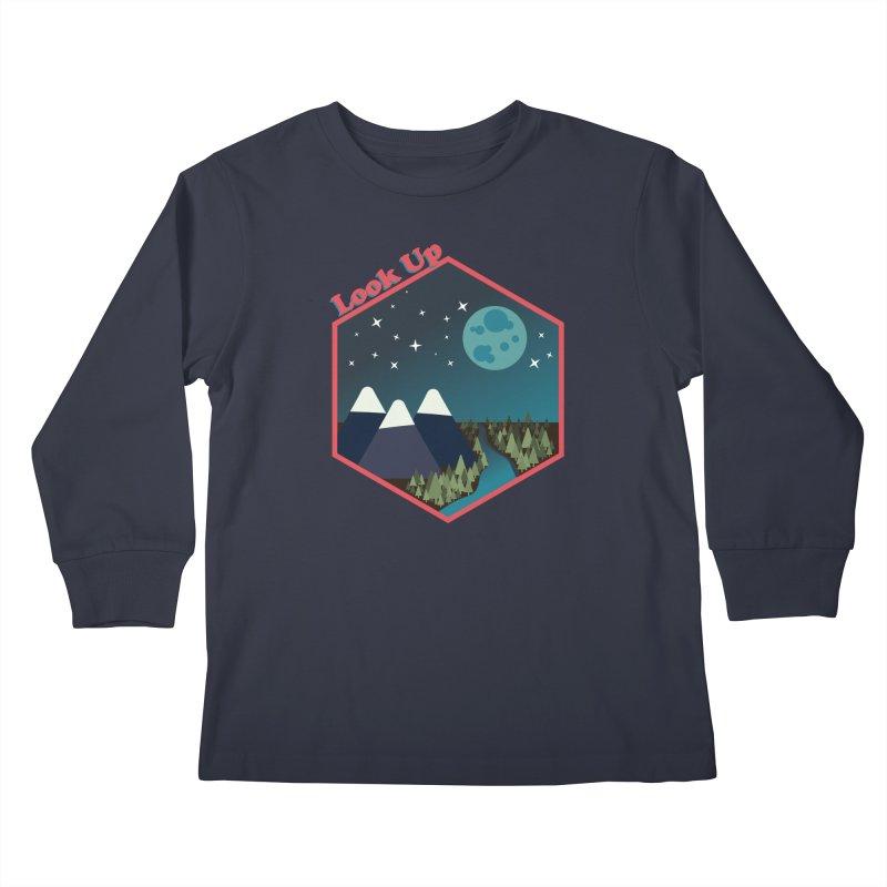 Look Up! Kids Longsleeve T-Shirt by Environmental Arts Alliance Shop
