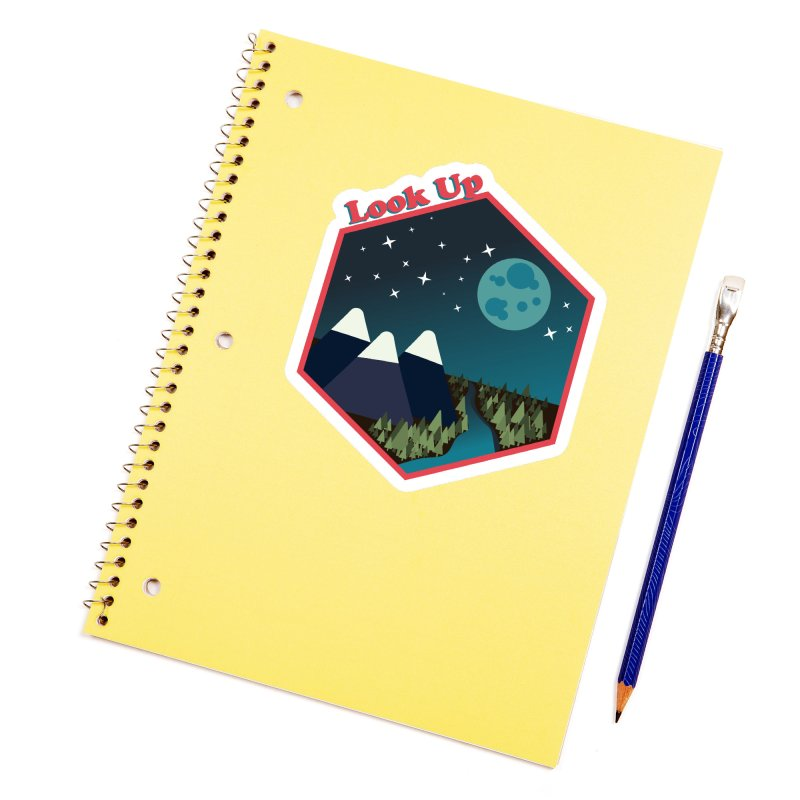 Look Up! Accessories Sticker by Environmental Arts Alliance Shop