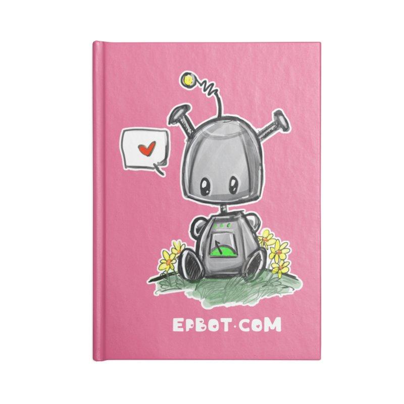 Epbot Baby Tshirt Accessories Notebook by Epbot's Artist Shop