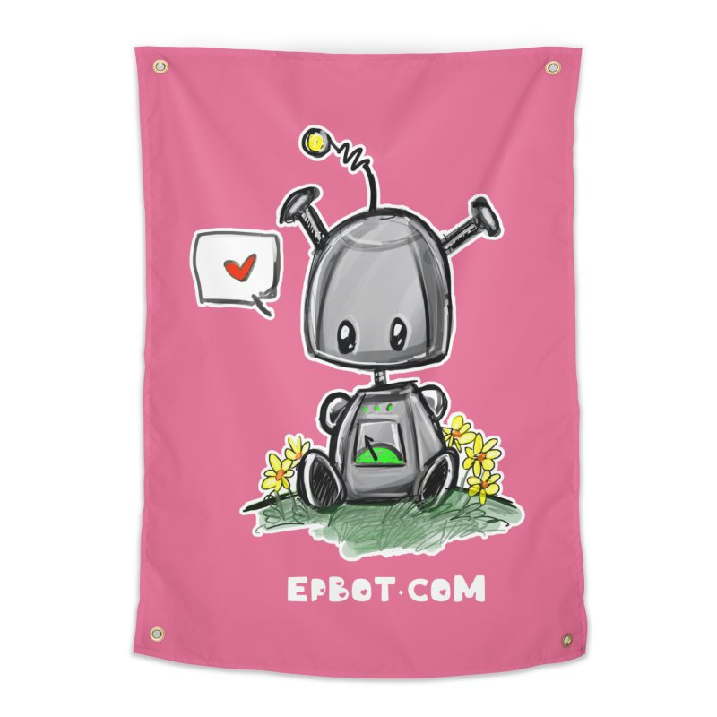 Epbot Baby Tshirt Home Tapestry by Epbot's Artist Shop