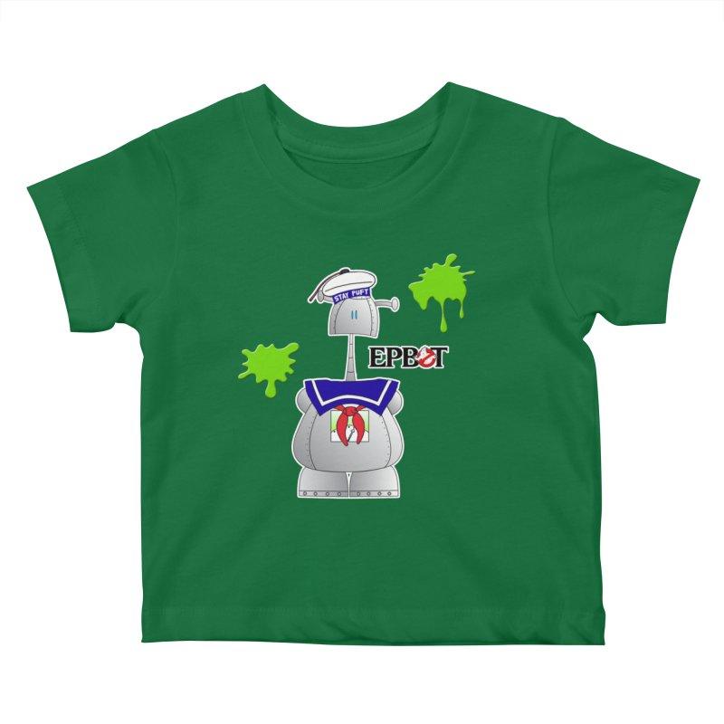 Epbot Staying Puft Kids Baby T-Shirt by Epbot's Artist Shop