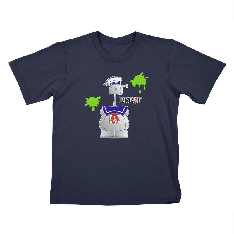 Epbot Staying Puft Kids T-Shirt by Epbot's Artist Shop