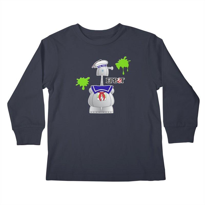Epbot Staying Puft Kids Longsleeve T-Shirt by Epbot's Artist Shop