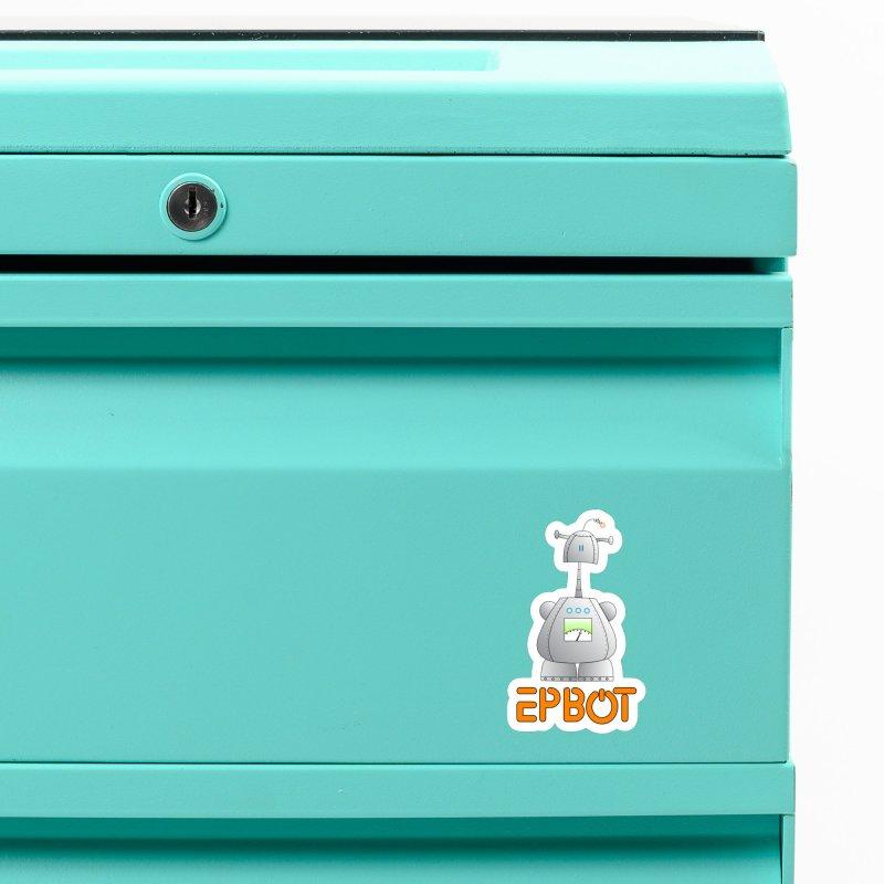 Epbot Original Accessories Magnet by Epbot's Artist Shop