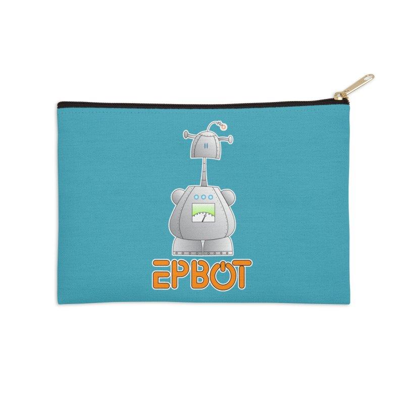 Epbot Original Accessories Zip Pouch by Epbot's Artist Shop