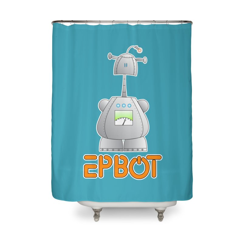Epbot Original Home Shower Curtain by Epbot's Artist Shop