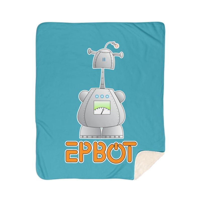Epbot Original Home Blanket by Epbot's Artist Shop