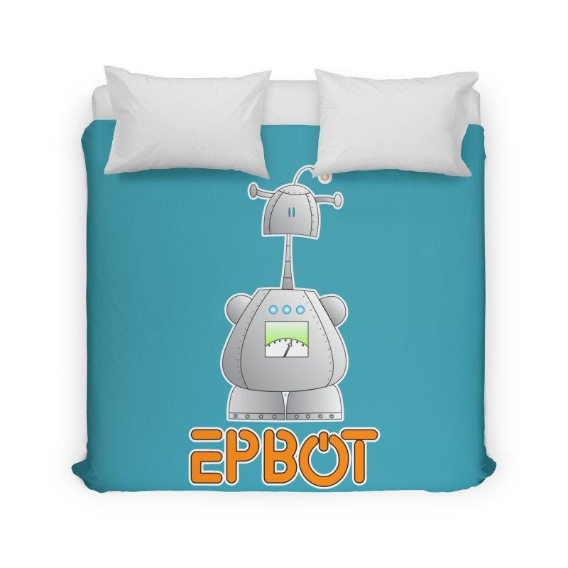 Epbot Original Home Duvet by Epbot's Artist Shop