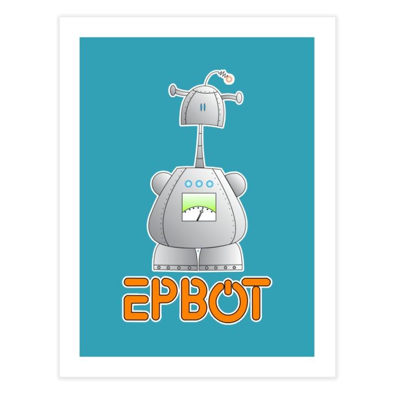 Epbot Original Home Fine Art Print by Epbot's Artist Shop