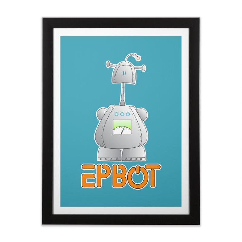 Epbot Original Home Framed Fine Art Print by Epbot's Artist Shop