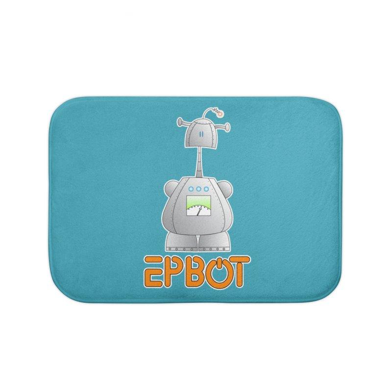 Epbot Original Home Bath Mat by Epbot's Artist Shop