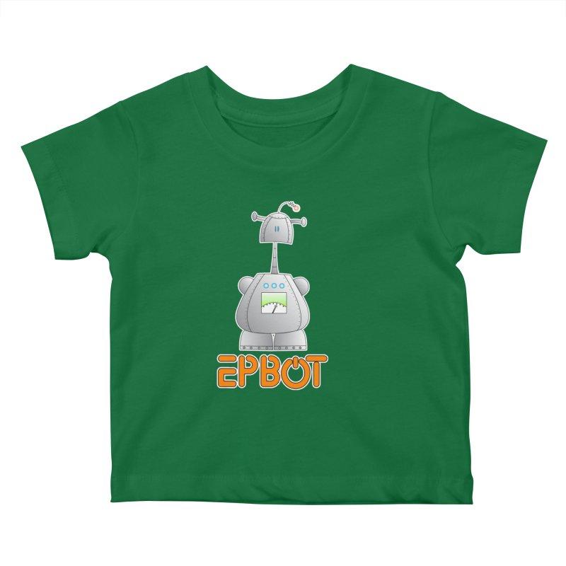 Epbot Original Kids Baby T-Shirt by Epbot's Artist Shop