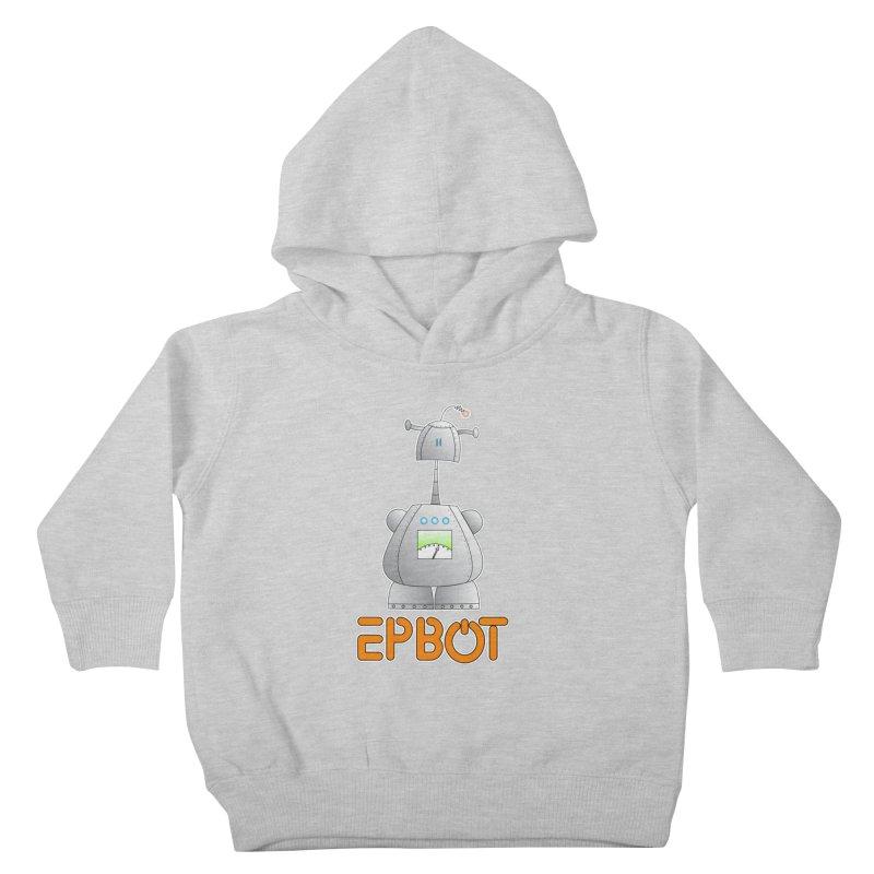 Epbot Original Kids Toddler Pullover Hoody by Epbot's Artist Shop
