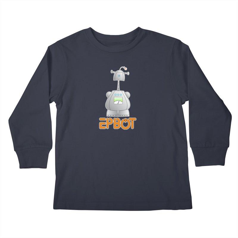 Epbot Original Kids Longsleeve T-Shirt by Epbot's Artist Shop
