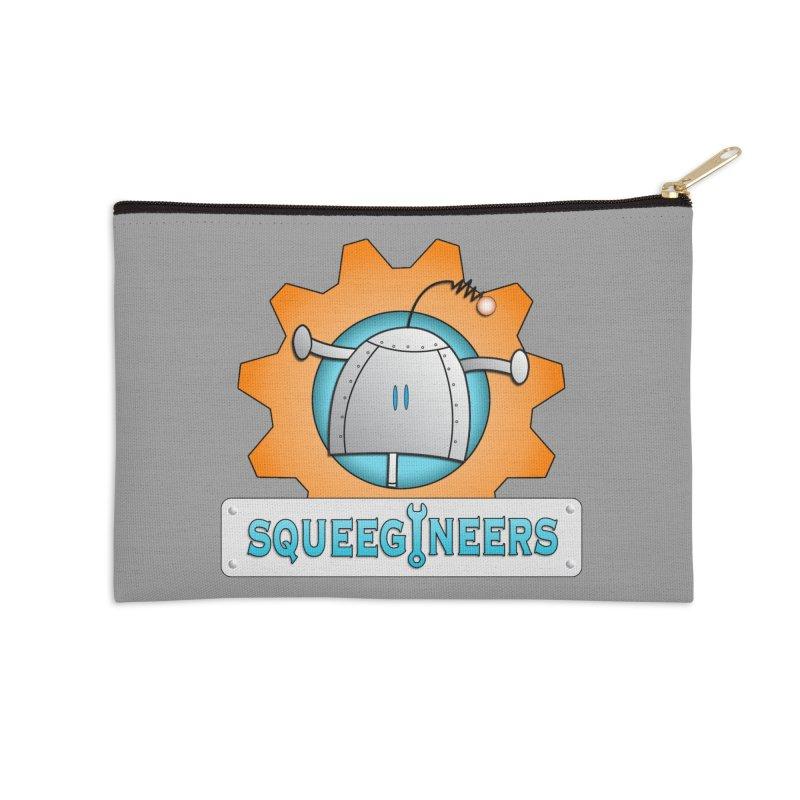 Squeegineers Accessories Zip Pouch by Epbot's Artist Shop