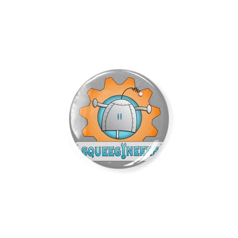Squeegineers Accessories Button by Epbot's Artist Shop