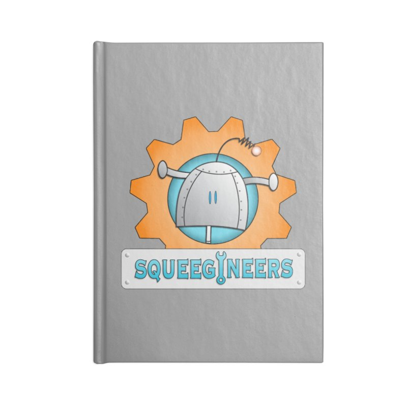 Squeegineers Accessories Notebook by Epbot's Artist Shop