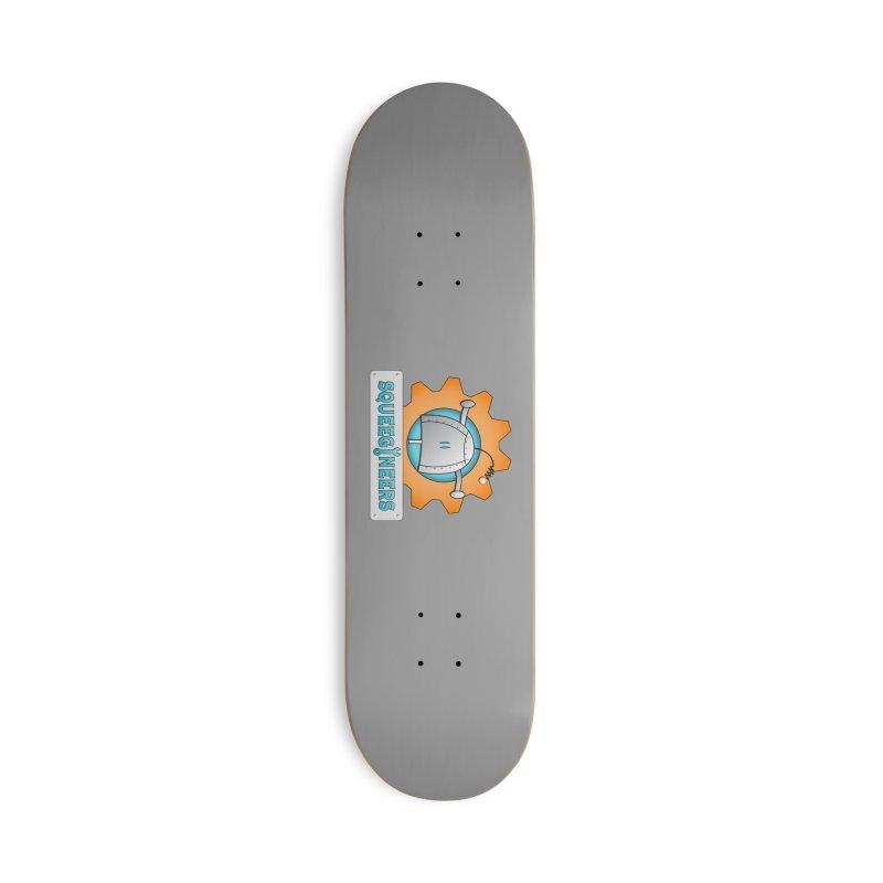 Squeegineers Accessories Skateboard by Epbot's Artist Shop
