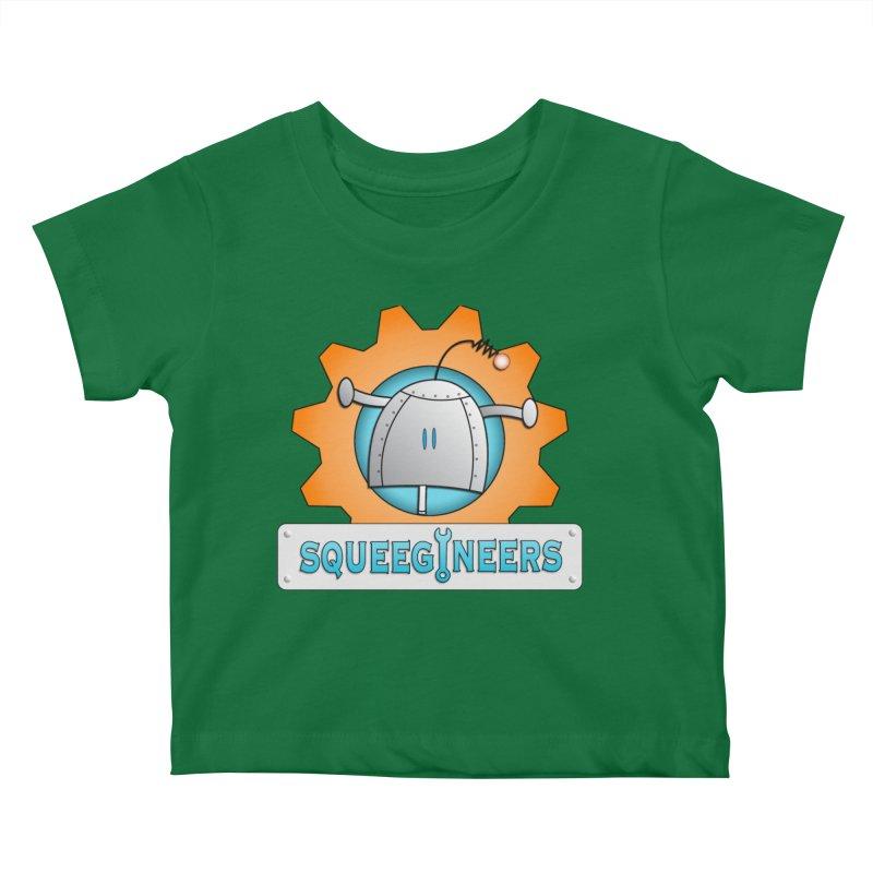 Squeegineers Kids Baby T-Shirt by Epbot's Artist Shop