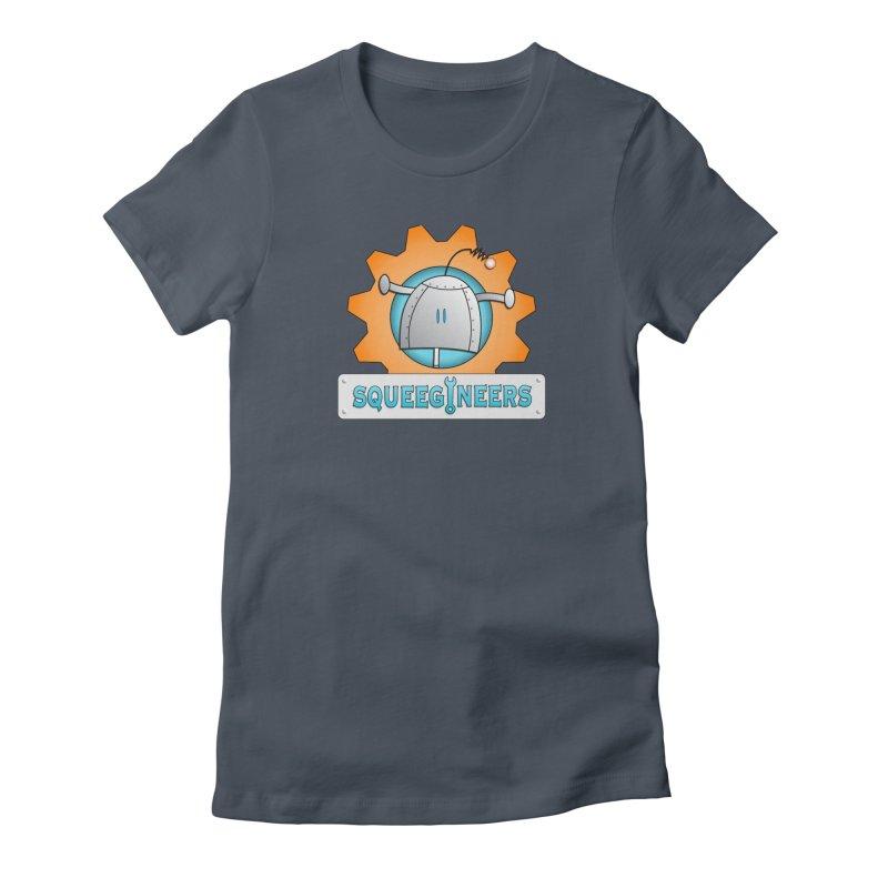 Squeegineers Women's T-Shirt by Epbot's Artist Shop