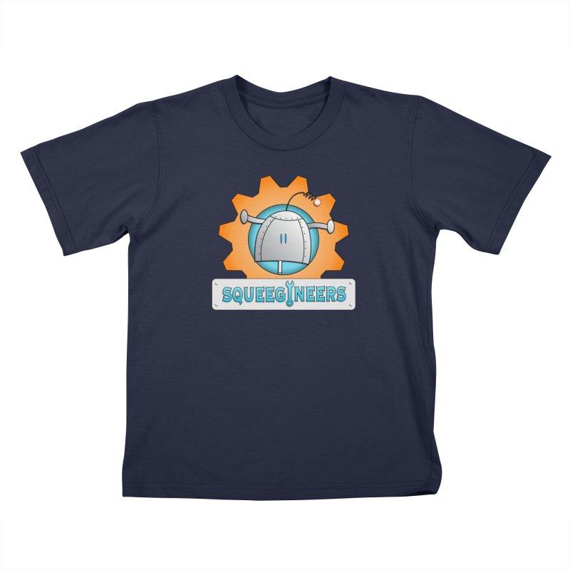 Squeegineers Kids T-Shirt by Epbot's Artist Shop