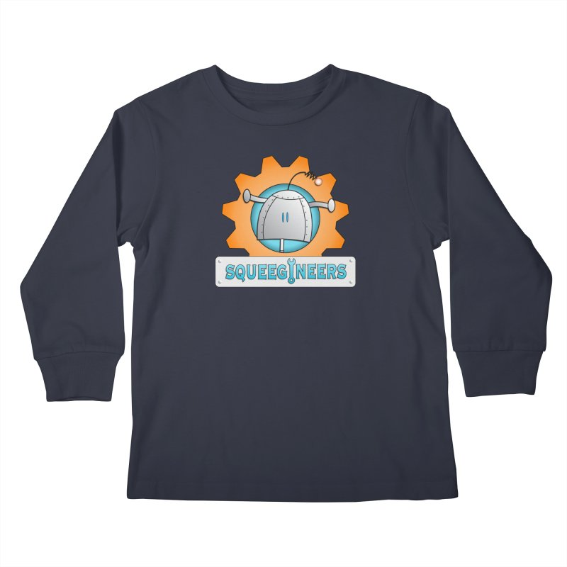Squeegineers Kids Longsleeve T-Shirt by Epbot's Artist Shop