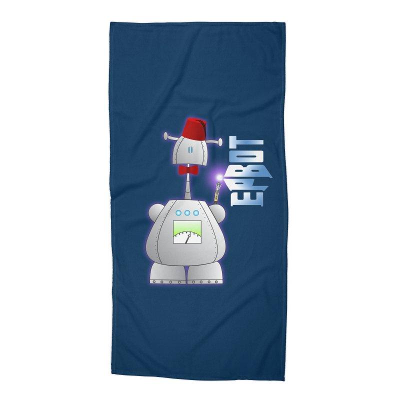 Doctor Epbot Accessories Beach Towel by Epbot's Artist Shop