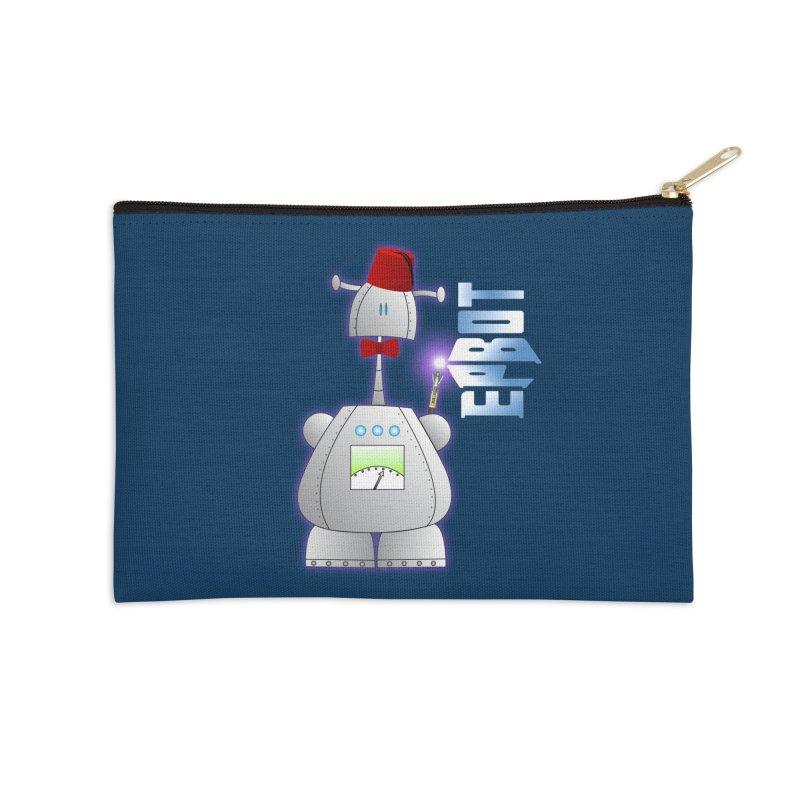Doctor Epbot Accessories Zip Pouch by Epbot's Artist Shop