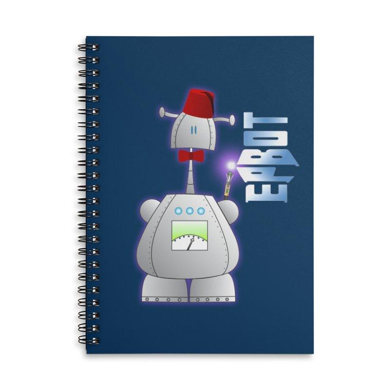 Doctor Epbot Accessories Notebook by Epbot's Artist Shop