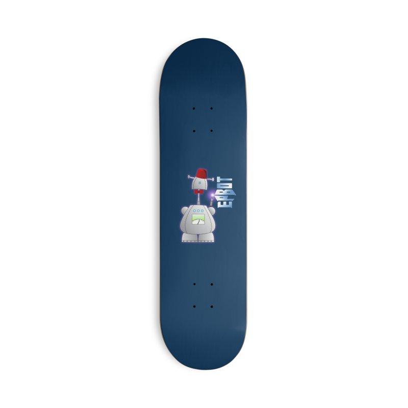 Doctor Epbot Accessories Skateboard by Epbot's Artist Shop