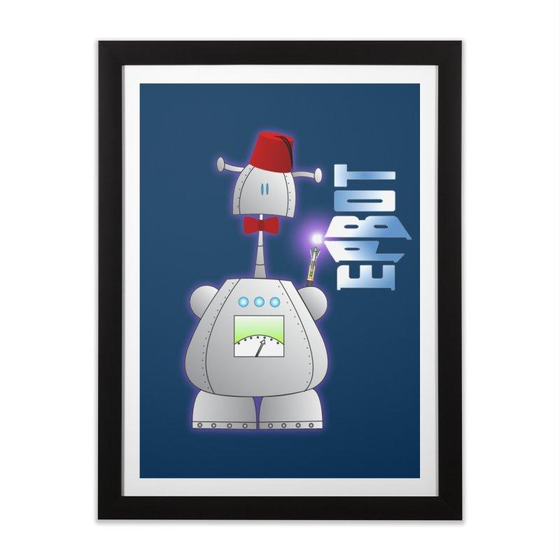 Doctor Epbot Home Framed Fine Art Print by Epbot's Artist Shop