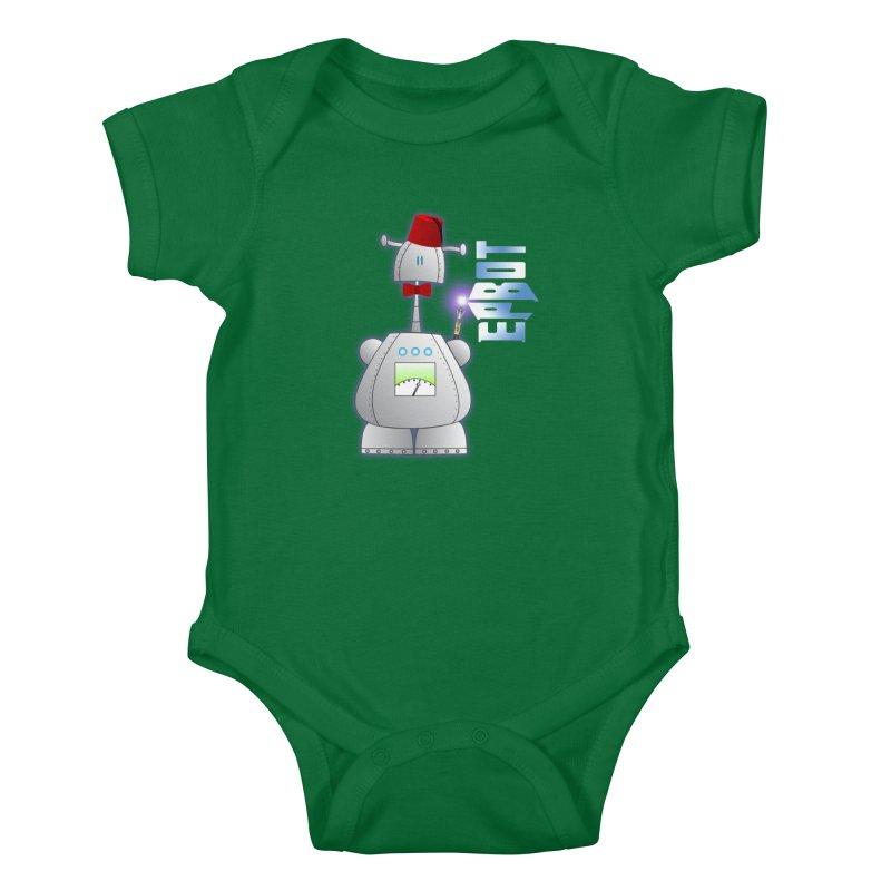 Doctor Epbot Kids Baby Bodysuit by Epbot's Artist Shop