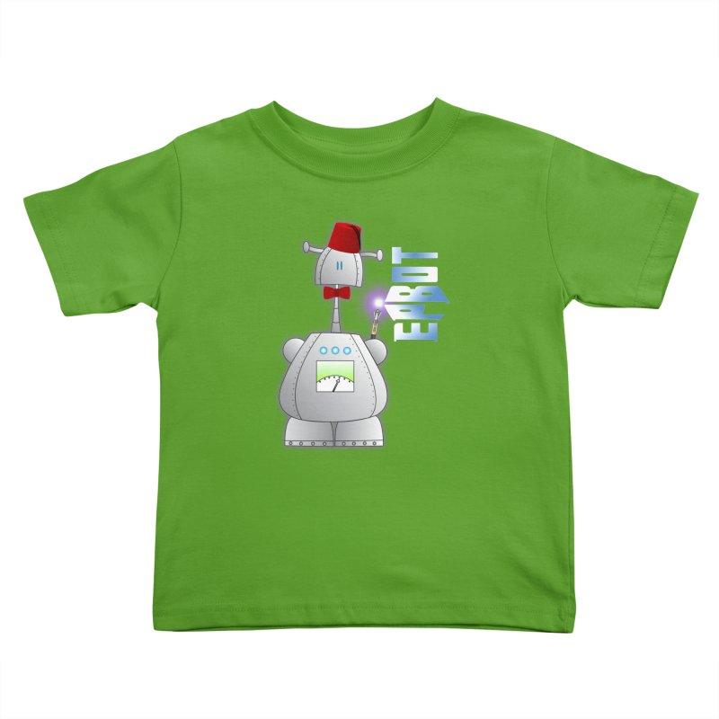 Doctor Epbot Kids Toddler T-Shirt by Epbot's Artist Shop