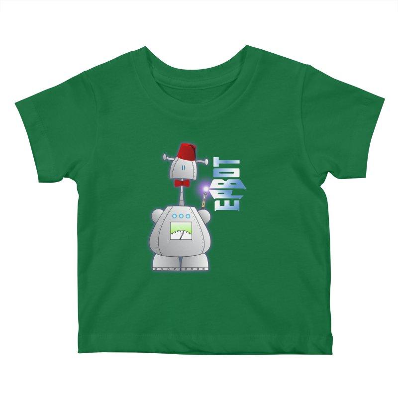 Doctor Epbot Kids Baby T-Shirt by Epbot's Artist Shop