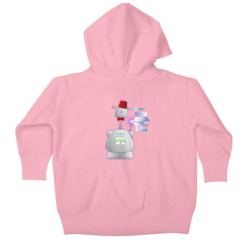 Doctor Epbot Kids Baby Zip-Up Hoody by Epbot's Artist Shop
