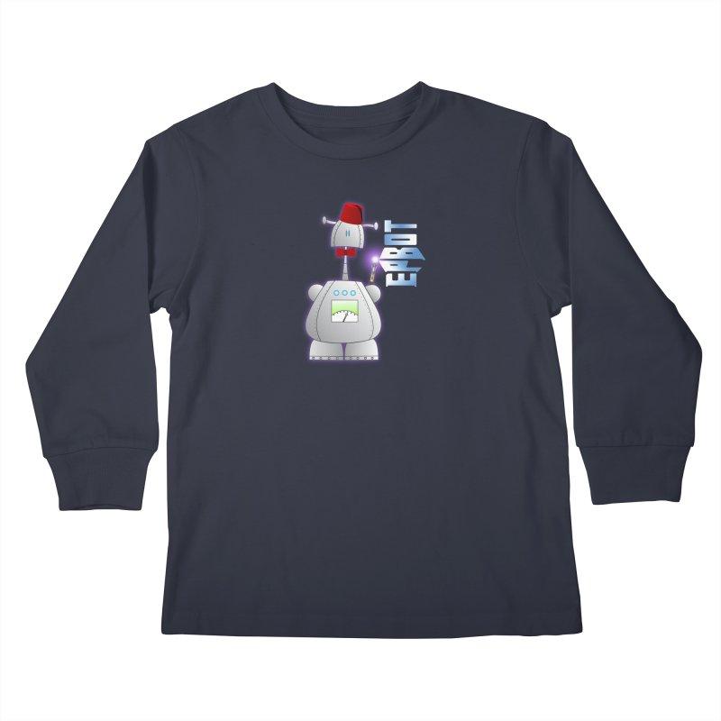 Doctor Epbot Kids Longsleeve T-Shirt by Epbot's Artist Shop