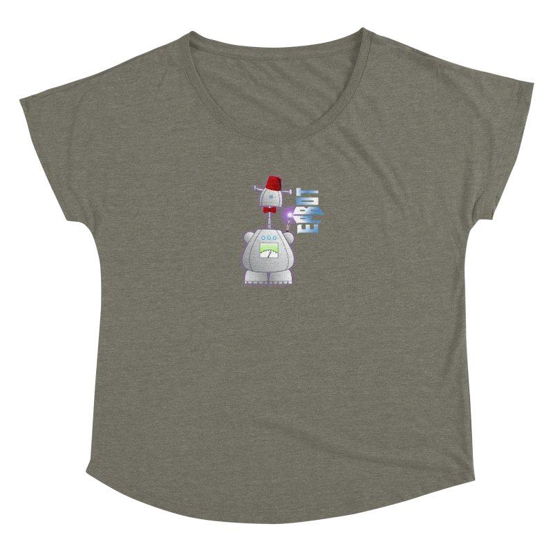 Doctor Epbot Women's Scoop Neck by Epbot's Artist Shop