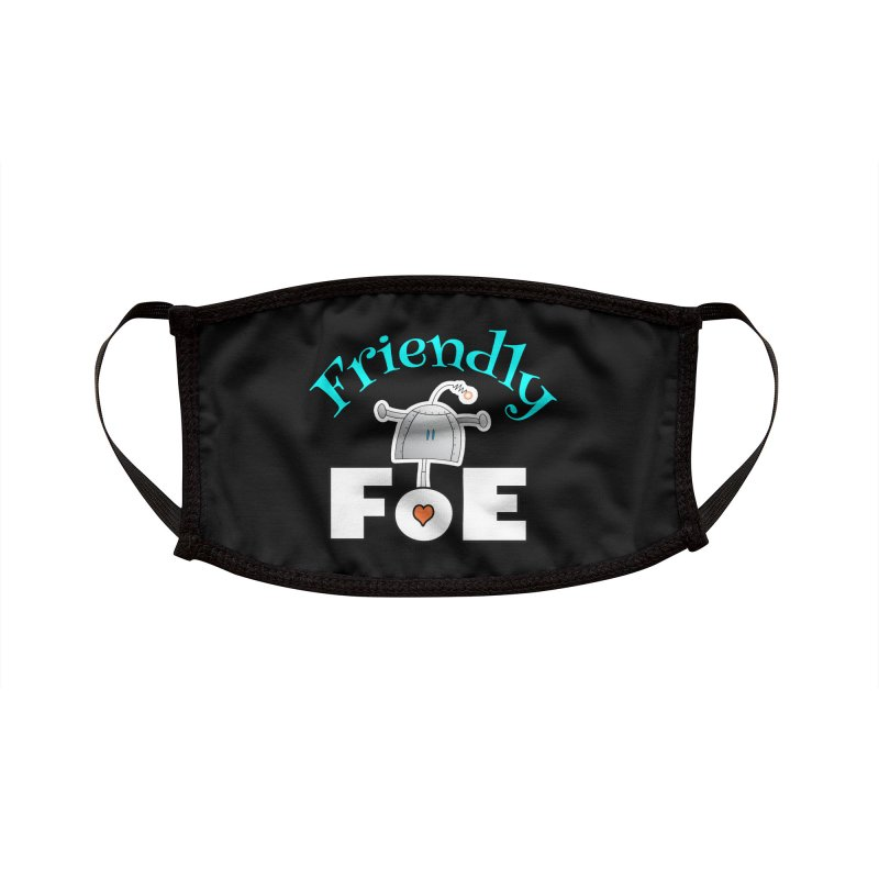 Friendly FoE Accessories Face Mask by Epbot's Artist Shop