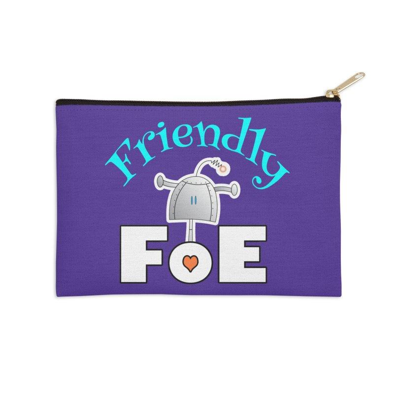 Friendly FoE Accessories Zip Pouch by Epbot's Artist Shop