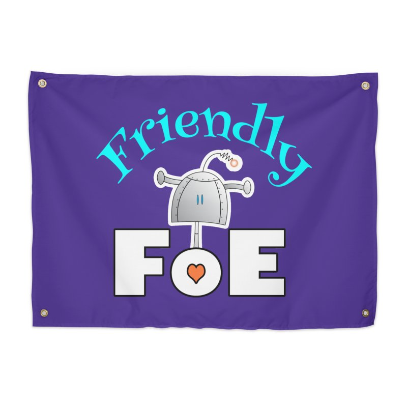 Friendly FoE Home Tapestry by Epbot's Artist Shop