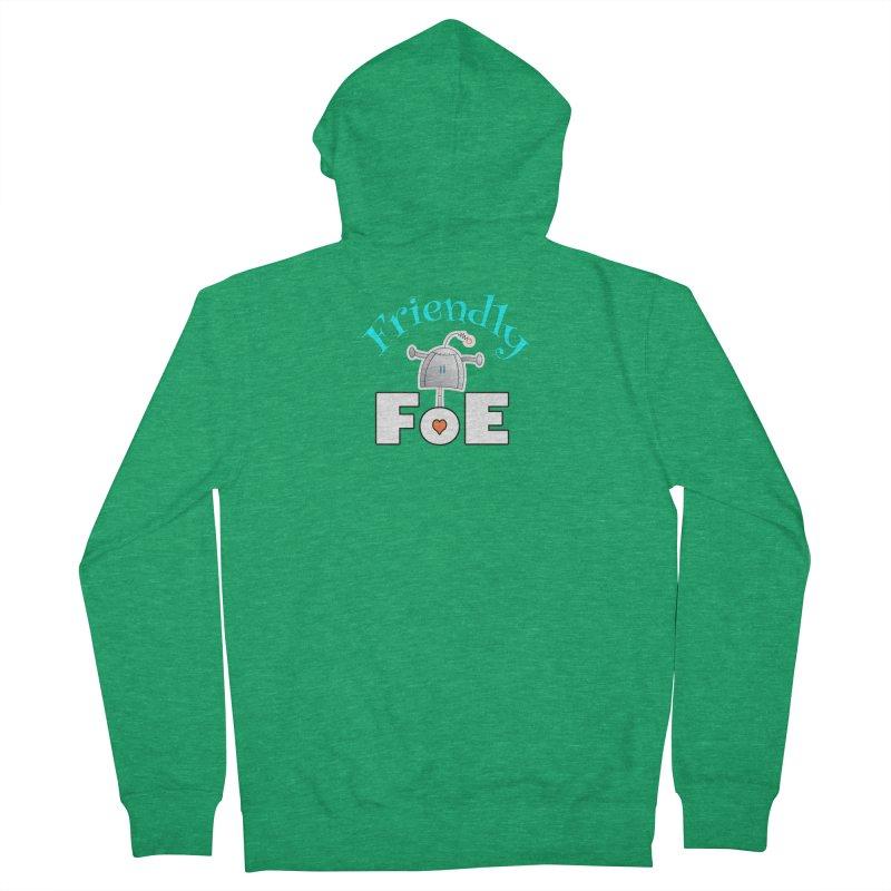 Friendly FoE Women's Zip-Up Hoody by Epbot's Artist Shop