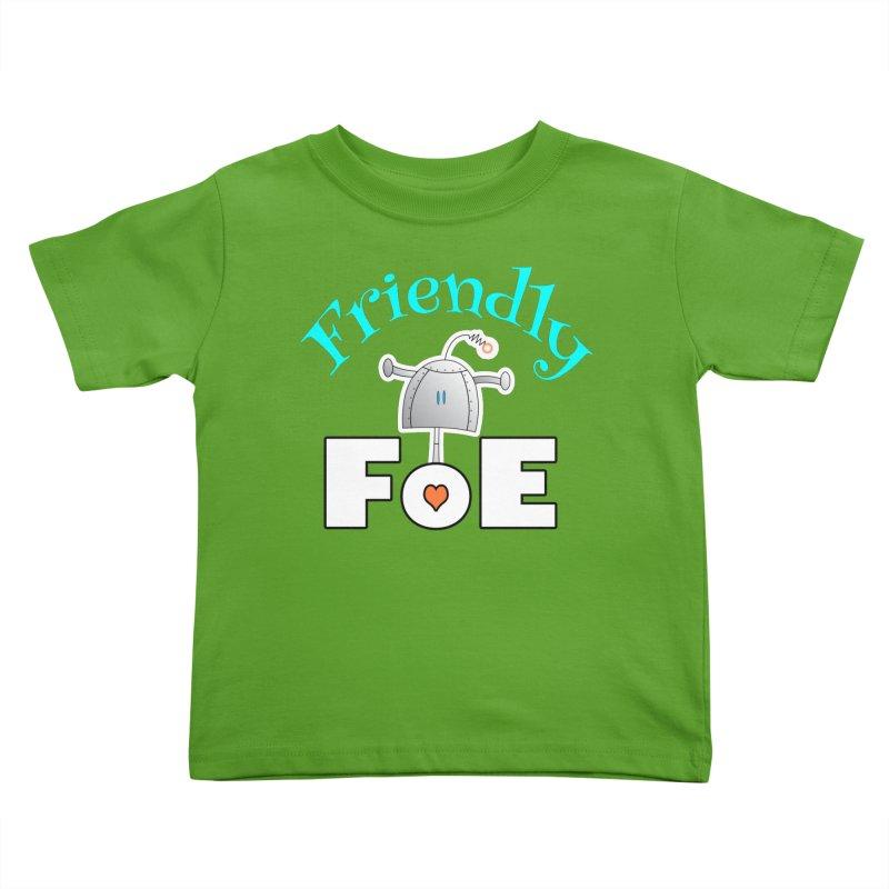 Friendly FoE Kids Toddler T-Shirt by Epbot's Artist Shop
