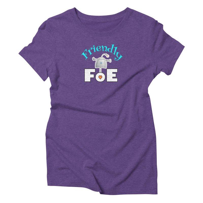 Friendly FoE Women's T-Shirt by Epbot's Artist Shop