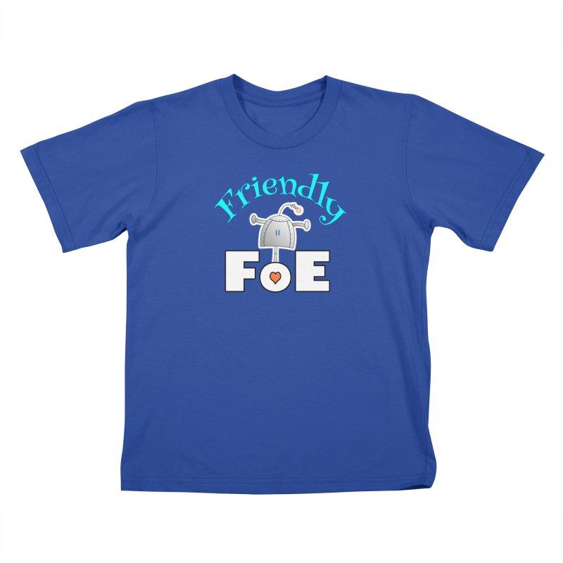 Friendly FoE Kids T-Shirt by Epbot's Artist Shop