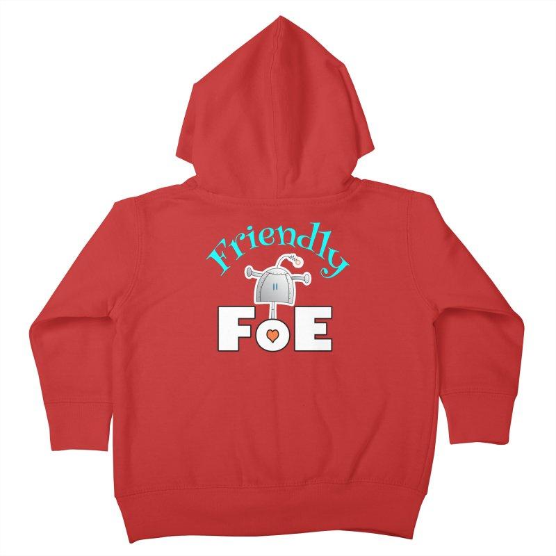 Friendly FoE Kids Toddler Zip-Up Hoody by Epbot's Artist Shop