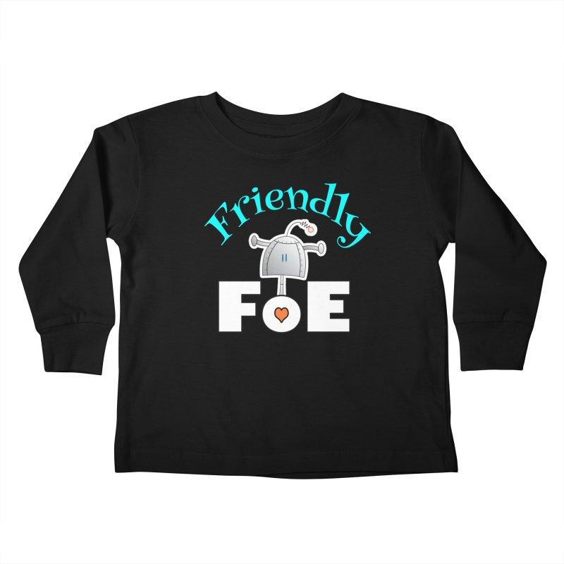 Friendly FoE Kids Toddler Longsleeve T-Shirt by Epbot's Artist Shop