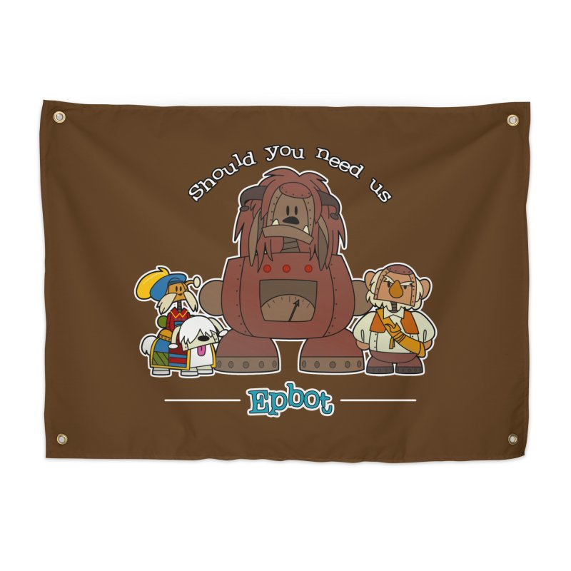 Should you need us Home Tapestry by Epbot's Artist Shop