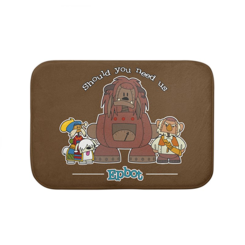 Should you need us Home Bath Mat by Epbot's Artist Shop