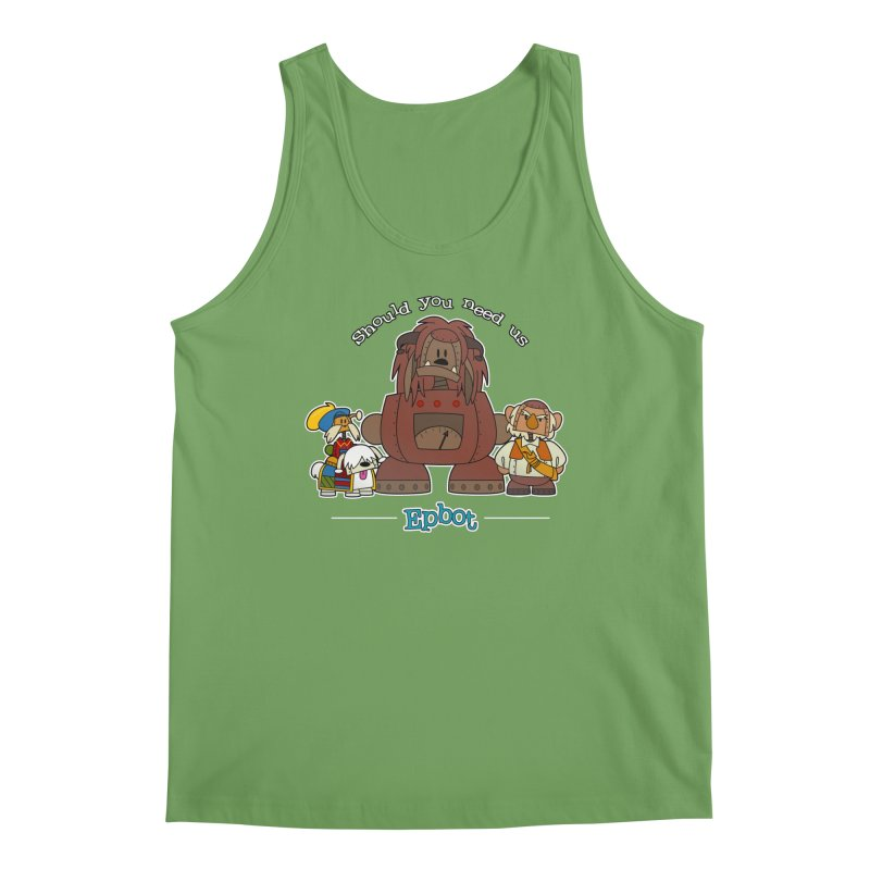 Should you need us Men's Tank by Epbot's Artist Shop